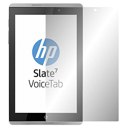 Slabo 2 x Bildschirmschutzfolie HP Slate 7 VoiceTab Bildschirmschutz Schutzfolie Folie Crystal Clear unsichtbar MADE IN GERMANY