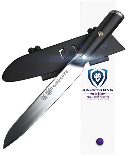 Dalstrong Kochmesser - Phantom Serie Gyuto - Japanischer AUS8 Stahl - - Messerscheide beinhaltet (12.7 cm - Allzweckmesser)