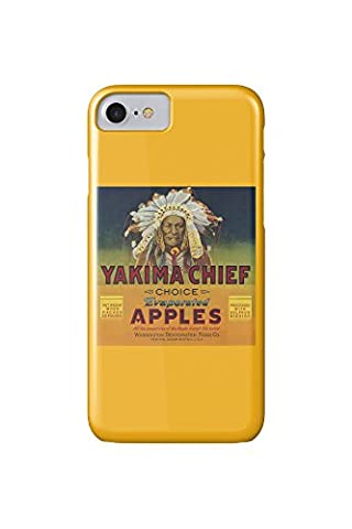 Yakima Chief Apple Label (iPhone 7 Cell Phone Case, Slim Barely There)