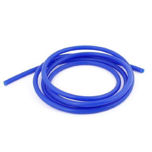 2M Long Bleu Silicone à vide Tuyau Tube 8mm Diamètre Externe pour voiture