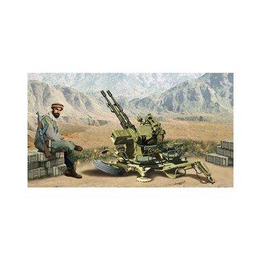 Ace Authentic ZU-23-2 Modelo Canon Soviética antiaéreo AA Edad Moderna