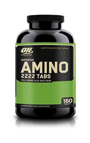 Optimum Nutrition - Superior Amino 2222 160 Tabletten Dose (2er Pack) (2222 Amino Tabletten)