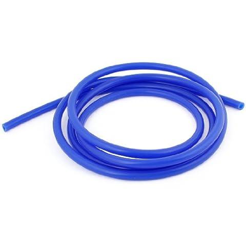 2M Azul Largo Manguera Del Silicón De Tubo De Vacío 8mm Diámetro Externo para coche