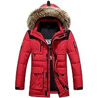 Amazon.it  piumini leggeri uomo - Rosso   Uomo   Abbigliamento ... 4b5fe2da9ac