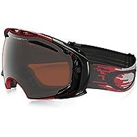 af4e7e32e8 Oakley Airbrake - Gafas de esquí, color (Hyperdrive Red Black Iridium /Persimmon)