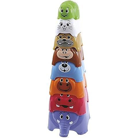 PlayGo - Conjunto con 8 animalitos encajables (Colorbaby 42506)