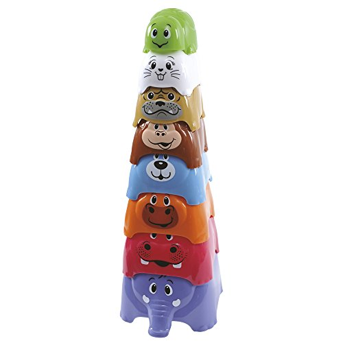 PlayGo Set cubos apilables - 8 piezas (ColorBaby 42506)