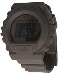 Wize & Ope SKY-5 - Reloj digital de cuarzo unisex, correa de poliuretano color gris