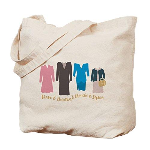 Dorothy Outfit - CafePress Goldene Mädchen-Outfits Tragetasche, canvas, khaki,