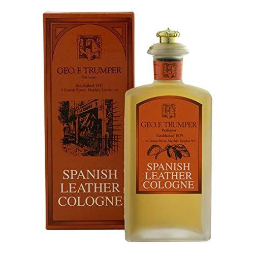 Geo F Trumper Large Spanish Leather Cologne - Vanille-moschus-vanille-köln