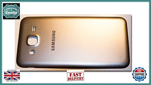 ICT Samsung Galaxy J5 2015 J500F Back Door Rear Battery Cover Housing Case Gold Batterie Back Door Cover Case