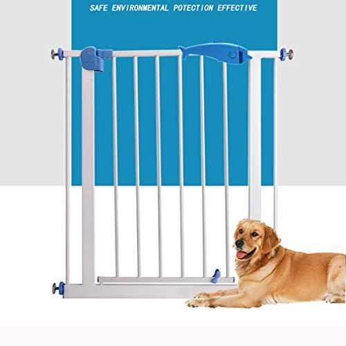 Clôture pour animaux de Compagnie, Porte d'isolement de Chien poinçonnage Gratuit intérieur Enfant Porte de sécurité bébé escalier Protection Garde-Corps