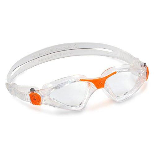 Aqua Sphere Kayenne Schwimmbrille, Lens-Clear/Orange, Regular Fit