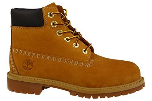 Timberland Boys Boots 6-Inch Premium Dunkelbraun (147) 31EU (6 Zoll-knie-boot)