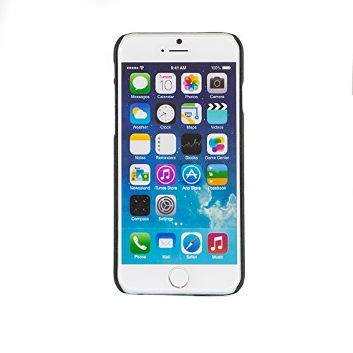 "iProtect Apple iPhone 6 (4,7"") Hülle Hard Case Schutzhülle matt rosa Hardcase Matt Schwarz"