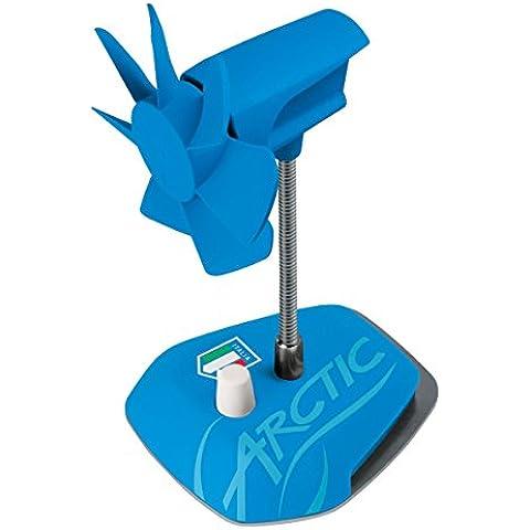 ARCTIC Breeze edición nacional - Italia - Ventilador de escritorio USB con velocidad regulable y cuello flexible