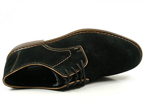 Rieker 17622, Derby Homme Noir (Schwarz/braun)