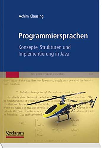 Programmiersprachen – Konzepte, Strukturen und Implementierung in Java