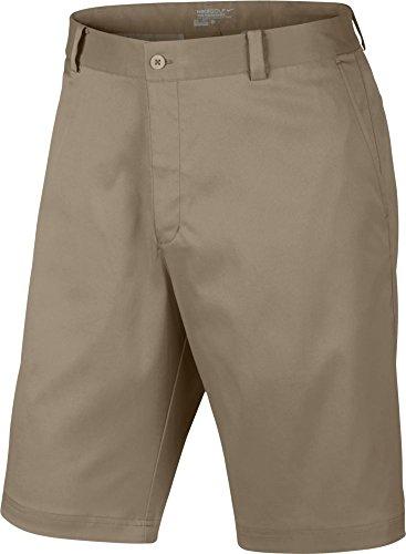 Nike Flat Front Short Pantalon pour homme, Khaki, 31