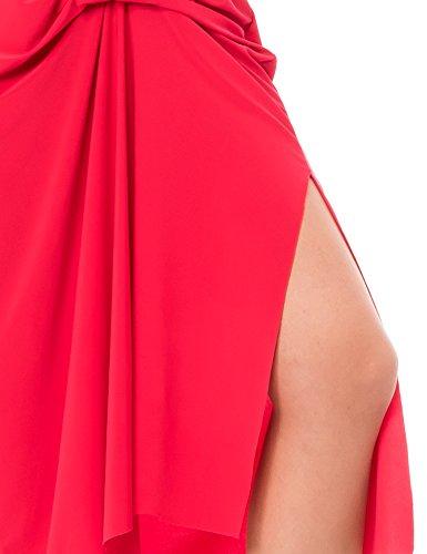 Isabella Roma Abito Lungo - Robe - Femme rouge (Rosso400)