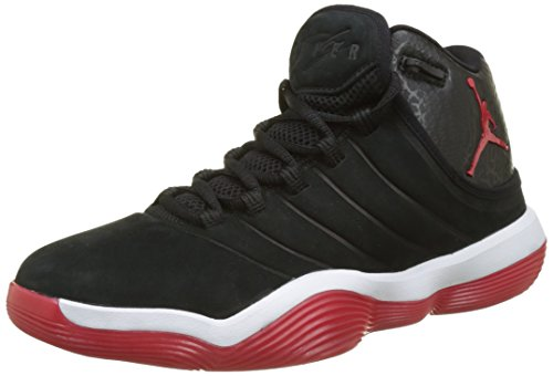 best website 38f0e f5052 Nike Jordan Super.Fly 2017, Zapatos de Baloncesto para Hombre, Negro (Black