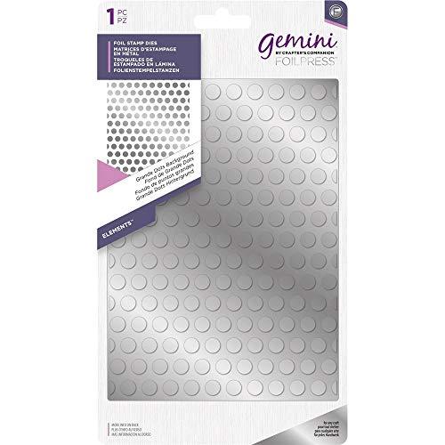 Gemini Crafter' s Companion Hot foil stamp die–elementi–grande puntini