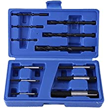 BIAOZH Extractor de tornillos dañados con tiras rotas (12 unidades)