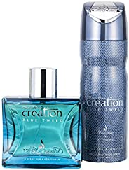 CREATION BLUE TWEED HOMME EDP and DEO SET