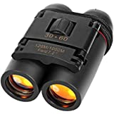 OCTOPUS PRIME HD Professional Binoculars for Bird Watching Travel Stargazing Hunting Concerts Sports 30 x 60 Roof Prism Binoculars for Adults