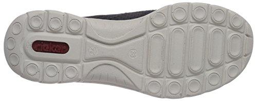 Rieker L3256 Sneakers Donna Blu (pacifico / Pacifico / Blu Marino / Nero / Beige / 14)