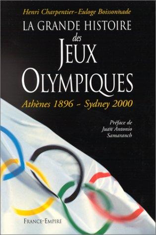 La grande histoire des Jeux olympiques par Euloge Boissonnade