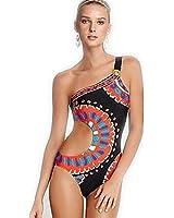 Damen Bikini-Sets Deep-V Strand Bademode Badeanzug