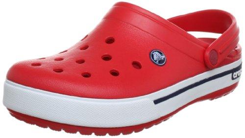 Crocs Cband2.5Clog, Unisex-Erwachsene Clogs, Rot (Red/Navy 639), 45/46 EU (M 11 US)