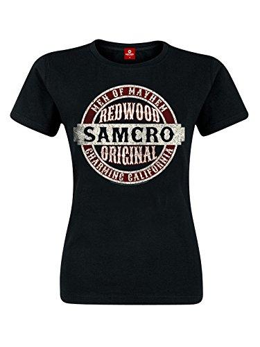 Sons Of Anarchy Samcro Original Maglia donna nero XL