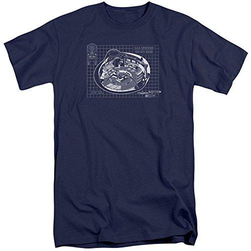 Star Trek - Mens Bridge Prints Tall T-Shirt