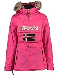 Geographical Norway Chaqueta Mujer Fuschia