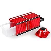 Slicer By ZAIYI Multifunción Cocina Chopper Cocina Pepino Trituradora Corte Tabla Cortar Patata Rallador Enviar Planing Cuchillo,Red