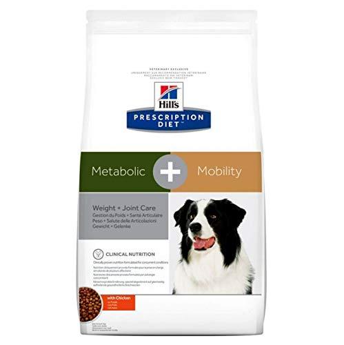 Hill's Prescription Diet Canine Poids + Santé des articulations Nourriture pour Chien Croquettes 12kg Poulet
