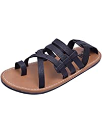 Stylos Men's 656 Leather Sandals