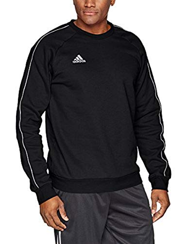 adidas Core18 Sweat Top Sweatshirts, Hombre, Black/White, M
