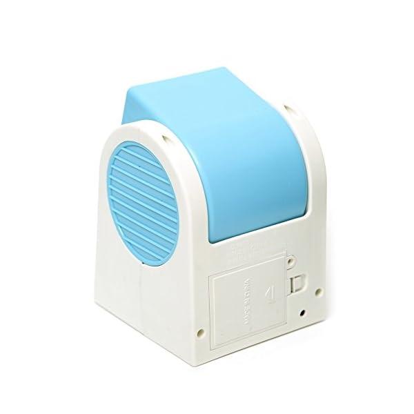 SODIAL-R-angulos-ajustables-USB-Electrica-Aire-acondicionado-mini-ventilador-del-refrigerador-de-aire-azul