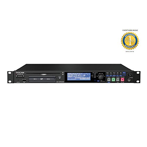 Tascam CD Redes SS-CDR250N 2 canales grabador multimedia