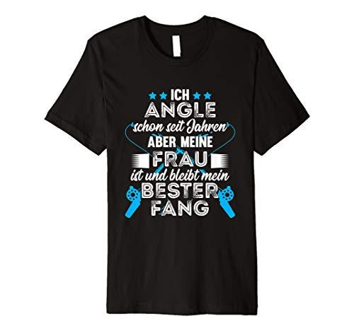 Herren T-Shirt Angeln Angler Fischer fischen Angel Geschenk Spruch