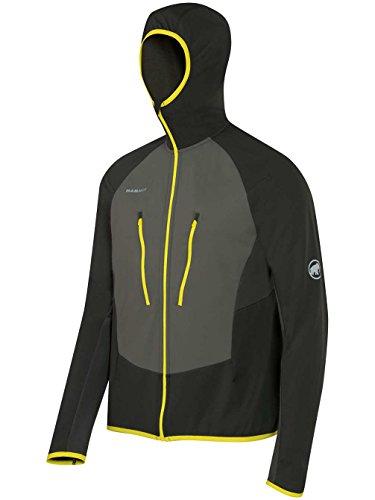 Mammut Aenergy Light ML Hooded Jacket Men (Fleece Jackets/Vests), Farbe:graphite/titanium;Größe:S