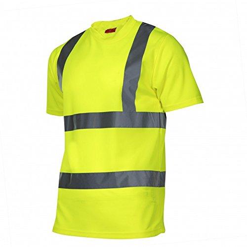 OCO KREXUS T-Shirts Warnschutzkleidung Gelb Gr. 2XL EX1211_2XL