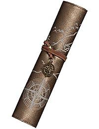 Preisvergleich für ZHRUI Concise Vintage Federmäppchen Kreative Spezial Bleistiftbeutel