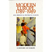 Modern Europe 1789-1989 (Koenigsberger and Briggs History of Europe)