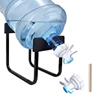 5 Gallon Water Dispenser Stand & Water Jug Dispenser,Portable Stainless Steel Water Jug Stand Bottle Drink