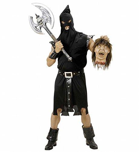 Widmann - Erwachsenenkostüm (Kostüme Henkers Kapuze Halloween)