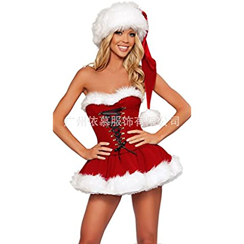Euramerican Extra large sexy Natale erotica lingerie